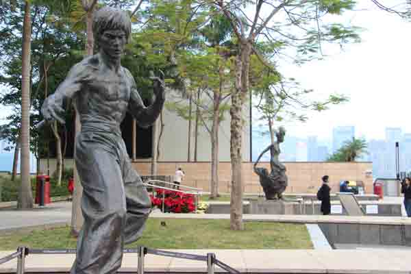 Balade Bruce Lee Hong Kong